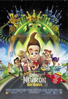 2001 movies | ... Neutron Movie Part on Jimmy Neutron Boy Genius 2001 Movie Poster Jpg