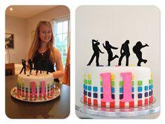 Birthday cake to a fabulous little dancer #cake #dance - Sockersöta Ninni