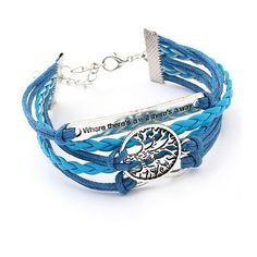 Tree Of Life Multi Layer Braided Bracelet ($9.99) ❤ liked on Polyvore featuring jewelry, bracelets, macrame bracelet, braided bracelet, friendship bracelet, layered jewelry and woven bracelet