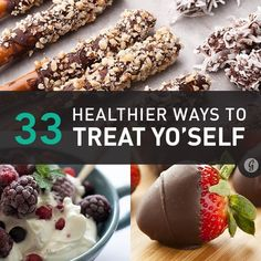 Never feel guilty about eating a little sweet stuff when choosing from this list!