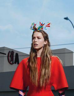 Raquel Zimmermann by Willy Vanderperre for W Magazine June 2014