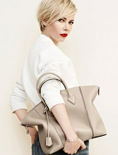Michelle Williams pose à nouveau pour Louis Vuitton