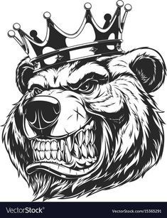 Vector graphics Install any size without loss of quality. ZIP archive contains: Vector graphics Install any size without loss of quality. ZIP archive contains: … Vector graphics Install any size without loss of… - Bear Clipart, Bear Vector, Tattoo Design Drawings, Tattoo Designs, Tattoo Ideas, Leaves Illustration, Bear Illustration, Vector Graphics, Vector Art