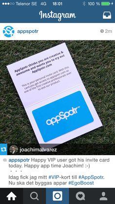 Kampanjen med korten med koder i ett fint kort. IMG_0375