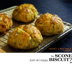 carrot blue cheese scone featured header