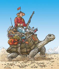 "Tell Forward: Geof Darrow Part Heir to ""Ligne Claire"" Character Design, Character Art, Fantasy Art, Dark Horse, Comic Books Art, Geof Darrow, Art, Nerd Art, Cartoon"
