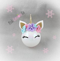 unicorn Christmas ornament unicorn ornamentunicorn unicorn