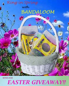Head over to the Bandaloom Facebook Page and like us for your chance to win a basket of Bandaloom goodies! https://www.facebook.com/BandaloomKit Official rules are on our Facebook page. #contest #giveaway #crafts #bandaloom #easter