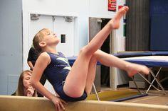 Glacier gymnast Tess Gordon works through her balance beam routine Saturday at the 2015 Kootenay Zone Gymnastics & Trampoline Championships. — Bruce Fuhr, The Nelson Daily