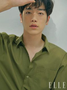 """South Korean actor Seo Kang Joon shares his thoughts on playing an AI robot in the upcoming pre-produced drama """"Are You Human Too?"""" in his interview with Elle Korea. Seo Kang Jun, Seo Joon, Asian Actors, Korean Actors, Seo Kang Joon Wallpaper, Kim Myungsoo, Seung Hwan, Kim Young, Francisco Lachowski"""