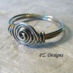 ... - Simple Wire Wrapped Ring
