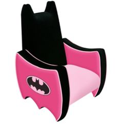 Batman Icon Chair For Toddler Batgirls Theyu0027ll Have Fun With This Very  Comfy Made