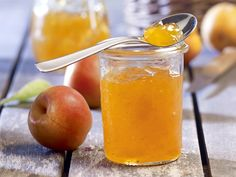 Apricot jam – License high-quality food images for your projects – Rights managed and royalty free – 11109134 Vegan Recepies, Salted Caramel Fudge, Salted Caramels, Oxtail, Jam And Jelly, South African Recipes, Oreo Cake, Russian Recipes, Curry Recipes