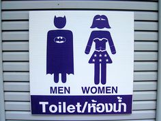 Top 22 des enseignes de toilettes hommes/femmes insolites