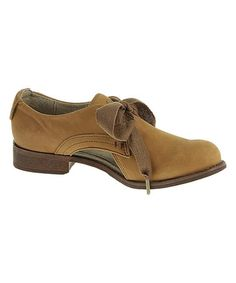 Look at this #zulilyfind! Cymbal Kay Leather Oxford by CAT Footwear #zulilyfinds