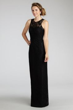 Split Back Straps White Purple Floor Length Black Lace Blue Sleeveless Ruched Zipper Bridesmaid / Wedding Dresses By DM 2107
