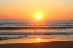 #JetsetterCurator  Surfing with the beautiful sunset at Porto Beach, Portugal