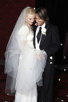 "Nicole Kidman and Keith Urban.    Kidman and Urban said ""I Do"" at the Cardinal Cerretti Memorial Chapel in Sydney, Australia on June 25, 2006."