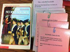 Literature Circle ideas for the American Revolution