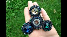 BEADING FIDGET SPINNER - HOW TO MAKE THIS TOY?! FIRST TRY ON YOUTUBE! ★ ...