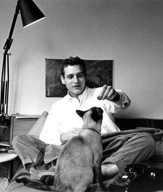 Paul Newman, 1956.
