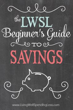 The Beginner's Guide to Savings - Living Well Spending Less™