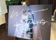 前撮り写真を使ったウェルカムボードのお手本デザイン集 Wedding Signage, Wedding Menu, Wedding Paper, Diy Wedding, Wedding Couple Photos, Wedding Images, Wedding Designs, Wedding Welcome Board, Welcome Boards