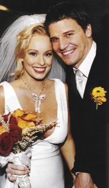 David Boreanaz and Jamie Bergman, exchanged vows at a downscaled wedding on the 24th November 2001.