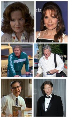 Pretty neat, Back to the Future actors made up to look 30 years older, and how they actually look 30 years older.