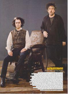 Tim Burton & Johnny Depp, Sweeney Todd