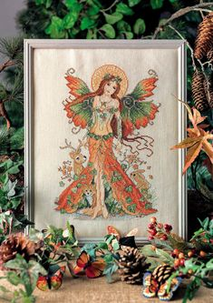 2 of 6 Autumn Fairy  From Cross Stitch Collection N°267 October 2016