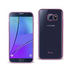 REIKO SAMSUNG GALAXY NOTE 5 FRAME CASE IN SHINY PINK