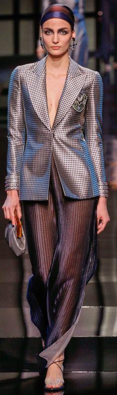 Armani Privé Haute Couture Spring Summer 2014 collection