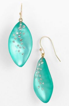 Alexis Bittar 'Lucite® - Dust' Long Leaf Statement Earrings | Nordstrom