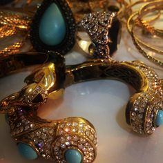 Turquoise and Gold, Samantha Wills