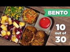 After our first two Bento Box Lunch videos were such a hit, we decided to create a 30 day series, each episode showcasing a brand new Bento Lunch idea for yo...
