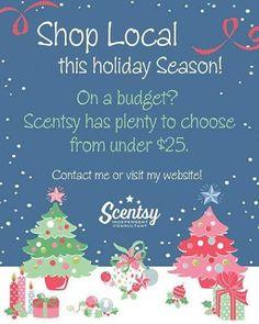 AngelinasAromas.scentsy.us #Scentsy #holiday