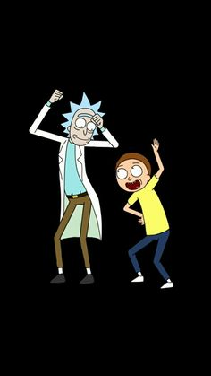 Rick Sanchez & Mortimer Smith - Rick And Morty (animated television show)