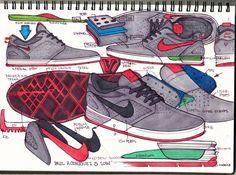 Nike SB P-Rod 5 by Shawn Carboy at Coroflot.com