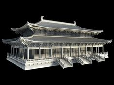 Chinese classical temple