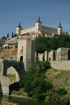 Alcazar Castle, Toledo, Guadalajara, La Mancha, Spain