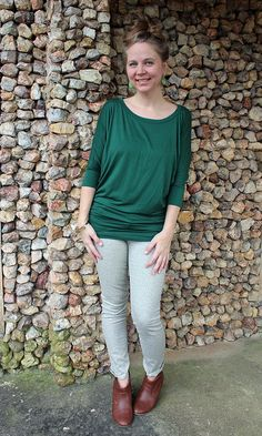I love this top. I have seen it in a burnt orange color which I would definitely try or even in black.