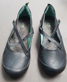 3f310f35e7e Cute J-41 MARTINI-Vegan Criss Cross Mary Jane Shoes Black 11  J41   MaryJanes  Casual