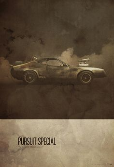 Pursuit Special. MAD MAX (Justin Van Genderen)