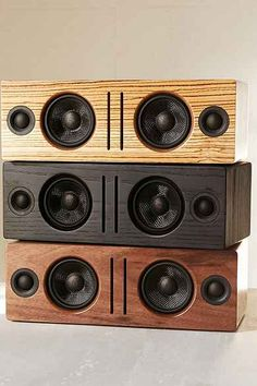 Audioengine B2 Premium Bluetooth Speaker - natural wood trend