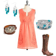 """""""Western"""" -very girly- normally not my style- but this is cute"""