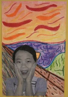 the scream -1st grade