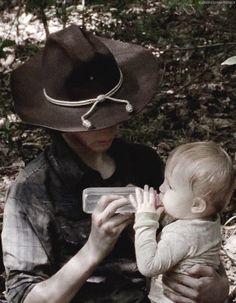 The Walking Dead - Carl & Judith #Siblings