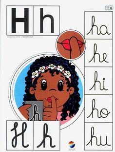Alfabeto+colorido+h. Alphabet Games, Learning Goals, Apraxia, Teaching Spanish, Spanish Class, Cursive, Fine Motor Skills, School Days, Special Education