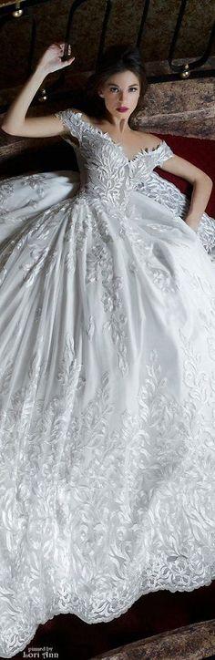 Toumajean Couture Bridal Spring 2016 ❤